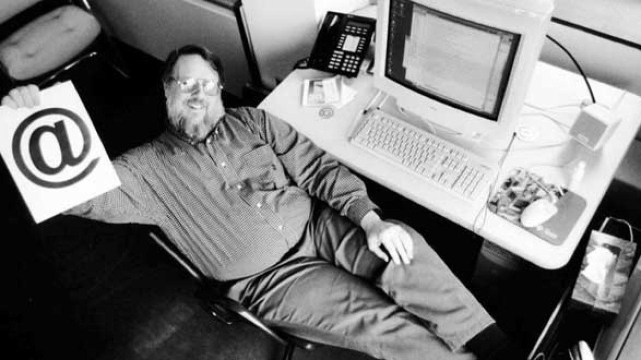 Ray Tomlinson, inventeur de l'adresse électronique